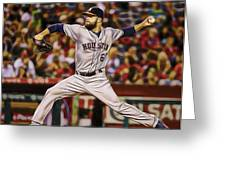 Dallas Keuchel Baseball Greeting Card