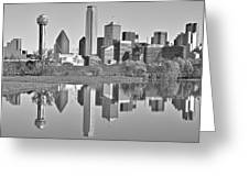 Dallas Monochrome Greeting Card