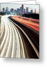 Dallas Morning Rush 122117 Greeting Card