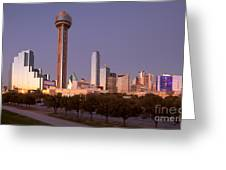 Dallas - Texas Greeting Card