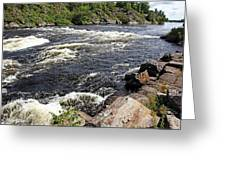 Dalles Rapids French River I Greeting Card