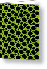 Dalmatian  Black Pattern 09-p0173 Greeting Card