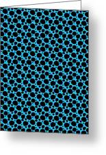 Dalmatian  Black Pattern 18-p0173 Greeting Card