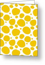 Dalmatian Pattern With A White Background 05-p0173 Greeting Card