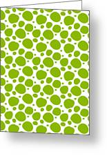 Dalmatian Pattern With A White Background 09-p0173 Greeting Card