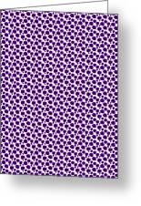 Dalmatian Pattern With A White Background 30-p0173 Greeting Card