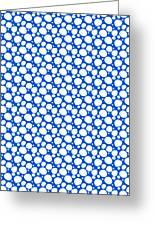 Dalmatian  White Pattern 18-p0173 Greeting Card