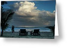 Daluyan Resort On Sabang Beach Greeting Card