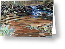 Dam Beavers Greeting Card by Phil Chadwick