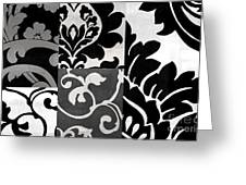 Damask Defined II Greeting Card