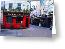 Dame Tavern Greeting Card