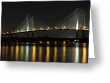 Dames Point Bridge Greeting Card