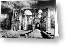 Dammarie Les Lys Abbey Greeting Card