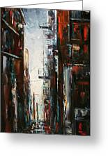 Damp And Cold Greeting Card by Debra Hurd