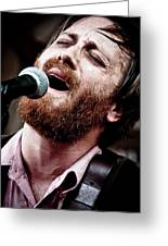 Dan Auerbach And The Fast Five Performs At The Mean Eyed Cat Dur Greeting Card