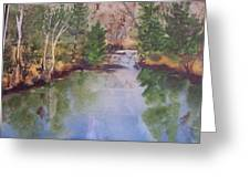 Dan S Pond Greeting Card