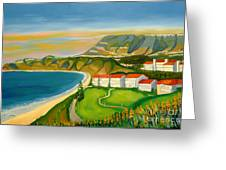 Dana Point Greeting Card
