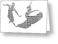 Dance Beauty Greeting Card