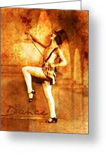 Dance Greeting Card by Cathie Tyler