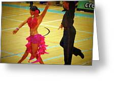 Dance Contest Nr 06 Greeting Card
