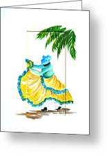Dance De Belaire Greeting Card by Karin  Dawn Kelshall- Best