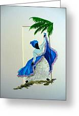 Dance De Pique Greeting Card