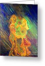 Dance For Two Greeting Card