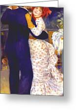 Dance In The Country 1883 1 Greeting Card