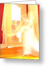 Dance In White 1 Greeting Card