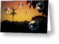 Dance Of A New Day Greeting Card