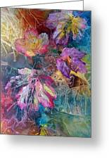Dance Of Color Greeting Card