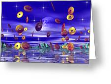 Dance Of The Doobooloo S Greeting Card