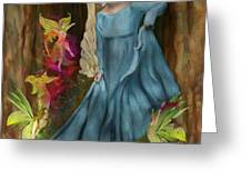 Dance Of The Fairies Greeting Card by Sydne Archambault
