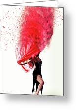 Dance Of The Viel Greeting Card