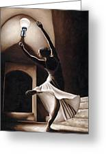 Dance Seclusion Greeting Card