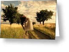 Dance Until Dawn Greeting Card
