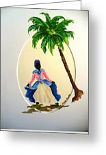 Dancer 2 Greeting Card by Karin  Dawn Kelshall- Best