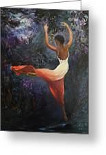 Dancer A Greeting Card