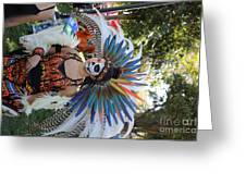 Dancer Day Of The Dead II Greeting Card