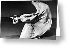 Dancer Martha Graham Greeting Card