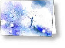 Dancer On Water 1 Greeting Card