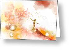 Dancer On Water 2 Greeting Card