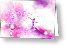 Dancer On Water 4 Greeting Card