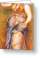 Dancer With Castanettes 1909 Greeting Card