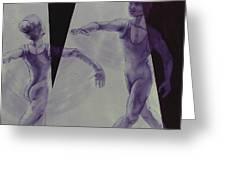 Dancers - 12 Greeting Card
