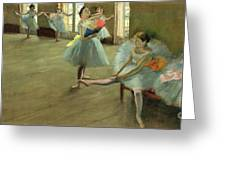 Dancers In The Classroom Greeting Card