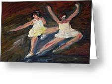 Dancers  One Greeting Card