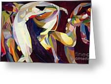 Dances Greeting Card by Arthur Bowen Davies