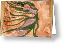 Dancing - Tile Greeting Card