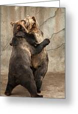 Dancing Bears Greeting Card